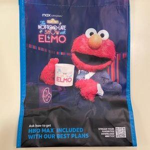 SESAME STREET ELMO Reusable Tote bag HBO MAX AT&T